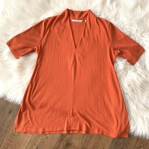 Soft Surroundings Ribbed Top